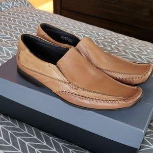EUC alfani mens sz 12 M leather loafers